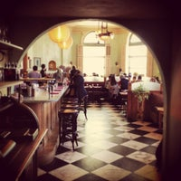 Photo taken at Cafe Gitane at The Jane Hotel by Demetri K. on 2/9/2013