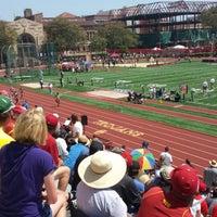 Photo taken at Cromwell Field & Loker Track Stadium by Paresh D. on 5/11/2013