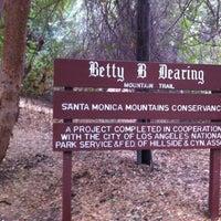 Photo taken at Fryman Canyon by Brad C. on 10/9/2012