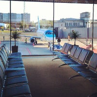 Photo taken at Lennart Meri Tallinn Airport (TLL) by Юлия Т. on 8/3/2013
