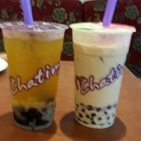 Photo taken at Chatime by Princess C. on 2/25/2014