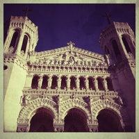 Photo taken at Basilica of Notre-Dame de Fourvière by Evgenia P. on 12/30/2012