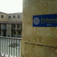 Photo taken at Enforex Salamanca by Andressa R. on 10/25/2012