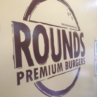 Photo taken at Rounds Premium Burgers by Marco S. on 5/10/2013