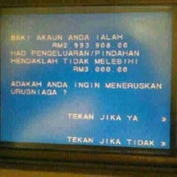 Photo taken at Maybank by syahril a. on 9/17/2012