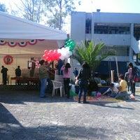 Photo taken at Centro de Lenguas Extranjeras FES Aragón UNAM by Melissa A. on 11/4/2015