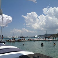 Photo taken at KafePi Beach Club by 〽elte〽 C. on 6/30/2013