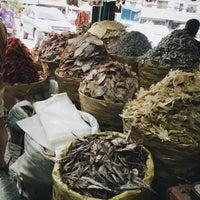 Photo taken at Tabo-an Market by Samantha O. on 9/19/2015