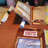 Photo taken at Montana Mike's Steakhouse by Nick P. on 5/7/2016