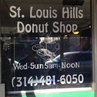 Photo taken at St. Louis Hills Donut Shop by Wes T. on 4/4/2015