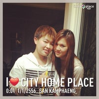 Photo taken at City home place by Nukoy J. on 12/31/2012