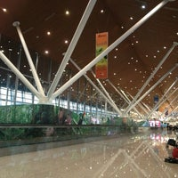 Photo taken at International Departures Hall by Stefan T. on 1/31/2013
