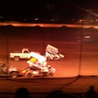 Photo taken at El Paso Speedway Park by Christina H. on 11/10/2012