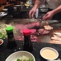 Photo taken at Yamato Japanese Steakhouse by Amanda on 12/31/2013