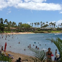 Photo taken at Napili Beach by Allison H. on 8/3/2013