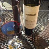 Photo taken at Airfield Estate Winery by Erich J. on 8/20/2016