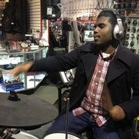 Photo taken at Sam Ash by Jordan C. on 12/28/2012