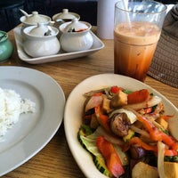 Photo taken at Khow Thai Cafe by Christine N. on 7/10/2015