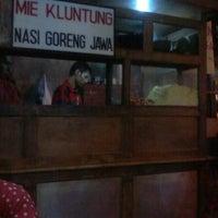 """Photo taken at Mie Kluntung/Nasi Goreng Jawa """"Pak Muji"""" by Rodriquez M. on 11/5/2012"""