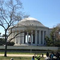 Photo taken at Thomas Jefferson Memorial by Jen F. on 4/6/2013
