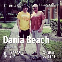 Photo taken at City of Dania Beach by Mee Kittiphong on 1/13/2013