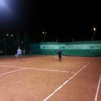 Photo taken at Tennis Club De L'Avenir Sportif De La Marsa by Hatem D. on 1/6/2013