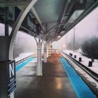 Photo taken at CTA - Noyes by Nick A. on 2/20/2014