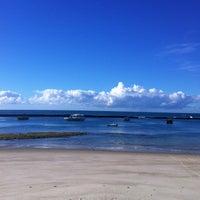 Photo taken at Praia do Francês by Let's Dive E. on 5/22/2013