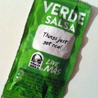 Photo taken at Taco Bell by Jeffry O. on 4/17/2013