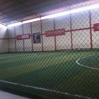 Photo taken at KutaMandiri Futsal by Muhamad R. on 11/15/2012