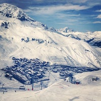 Photo taken at Tignes by Sinasi G. on 3/2/2013