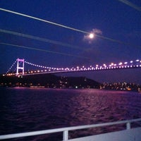 Photo taken at Fatih Sultan Mehmet Bridge by Ali Y. on 7/21/2013