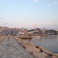 Photo taken at Bandırma Mendirek by ümit I. on 10/3/2012