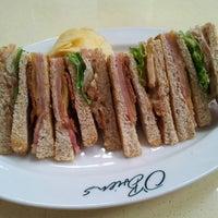 Photo taken at O'Briens Irish Sandwich Cafe by June W. on 9/10/2013