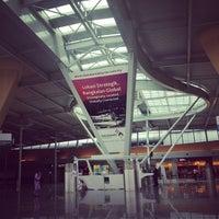 Photo taken at Senai International Airport (JHB) by Ong W. on 10/12/2012