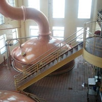 Photo taken at Saranac Brewery (F.X. Matt Brewing Co.) by Andy C. on 12/28/2012