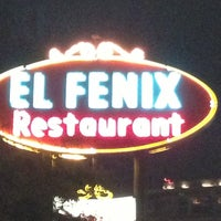 Photo taken at El Fenix Restaurant by Jarett D. on 12/25/2012