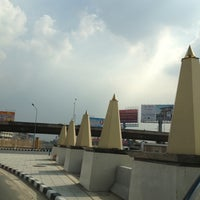 Photo taken at Ratchaphruek Circle by Wate S. on 11/5/2012