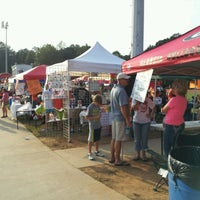 Photo taken at Acworth Warriors Football Field by Sean A. on 10/6/2012