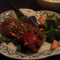 Photo taken at Bhan Thai by Eric on 2/28/2013