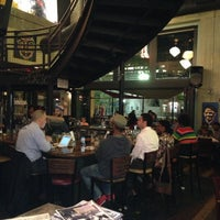Photo taken at Busboys and Poets by David W. on 4/17/2013