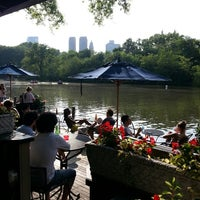 Photo taken at Central Park Boathouse by Favio A. on 5/21/2013