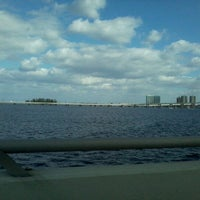 Photo taken at Caloosahatchee Bridge by Ryan M. on 1/29/2013