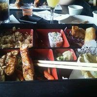 Photo taken at Zake Sushi Lounge by Christopher M. on 10/20/2012