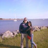 Photo taken at Hamble Point Marina by Натали❤️Корс on 5/3/2014
