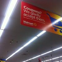 Photo taken at Walmart Supercenter by Maurizio C. on 1/8/2013