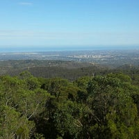 Photo taken at Mt Lofty Summit by Ambler T. on 3/21/2016