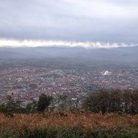 Photo taken at Cima del Naranco by Santi G. on 11/25/2012