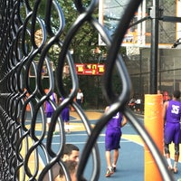 Photo taken at West 4th Street Courts (The Cage) by Tom M. on 7/10/2016