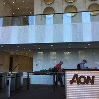 Photo taken at Aon Center by Nicholas S. on 6/8/2016